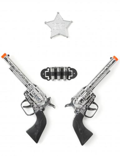 Set di 2 pistole bambino