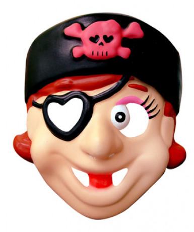 Maschera pirata bambina