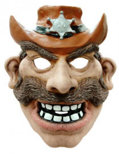 Maschera cowboy adulto