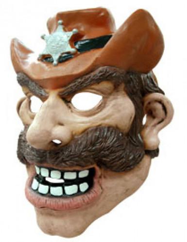 Maschera cowboy adulto-1