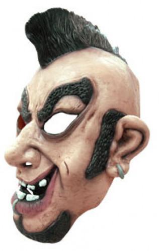 Maschera rockettaro con cresta-1