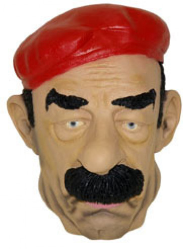 Maschera Saddam Hussein