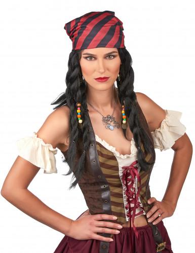 Parrucca pirata donna-1