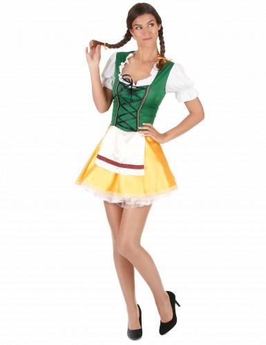 Costume da bavarese tradizionale per donna-2