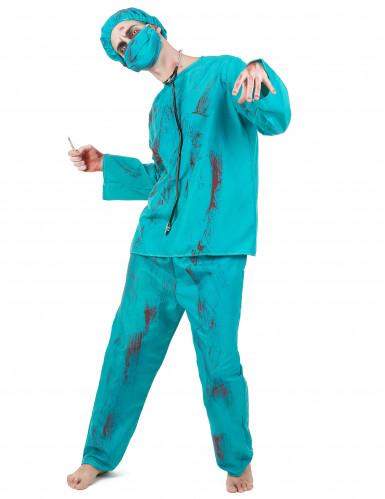 Costume chirurgo zombie adulto Halloween
