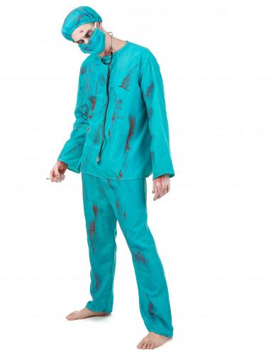 Costume chirurgo zombie adulto Halloween-1