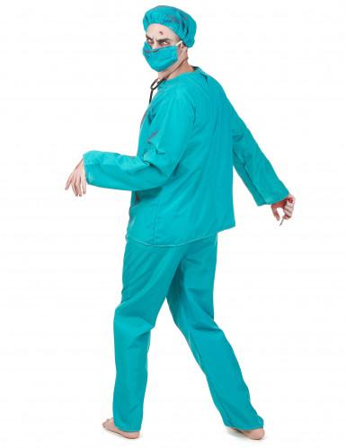 Costume chirurgo zombie adulto Halloween-2
