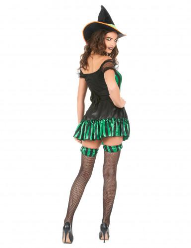 Costume da strega con giarrettiere per donna-2