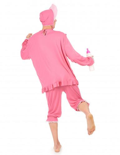 Costume bebè rosa per uomo-2