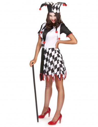Costume buffone donna-1