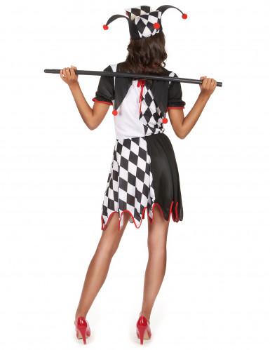 Costume buffone donna-2
