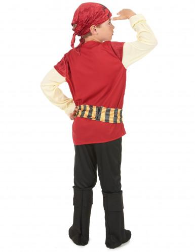 Costume da pirata di velluto per bambino-2