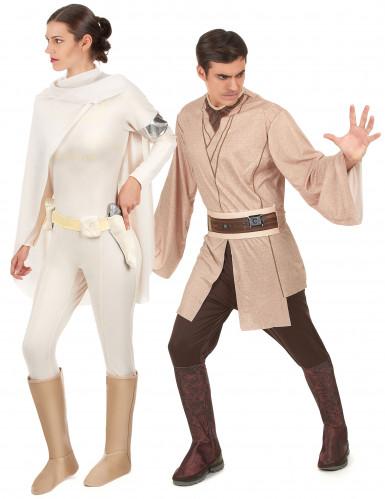 Costume coppia Jedi e Amidala Star Wars™