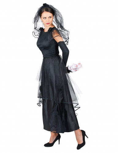 Costume sposa nera donna-1