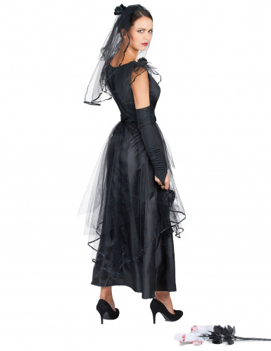 Costume sposa nera donna-2