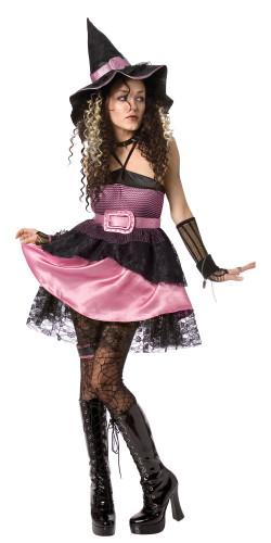 Costume strega halloween donna