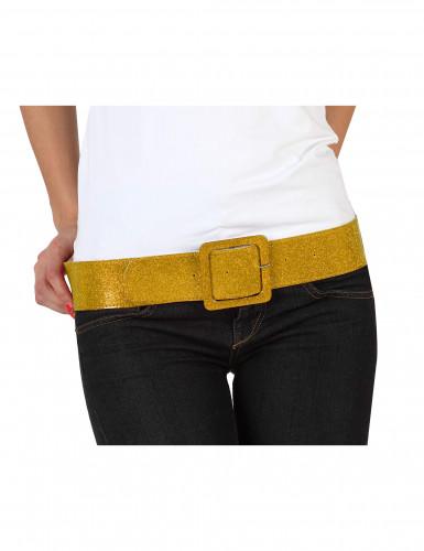 Cintura brillante dorata donna
