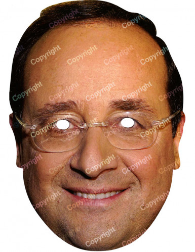Maschera François Hollande