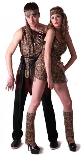 Costume coppia preistorico