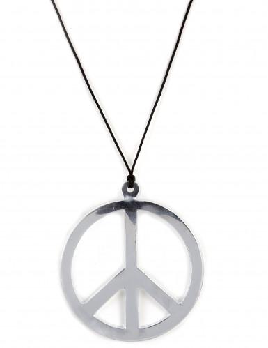 Collana hippie argentata Gigante