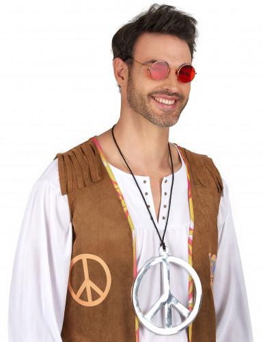 Collana hippie argentata Gigante-1