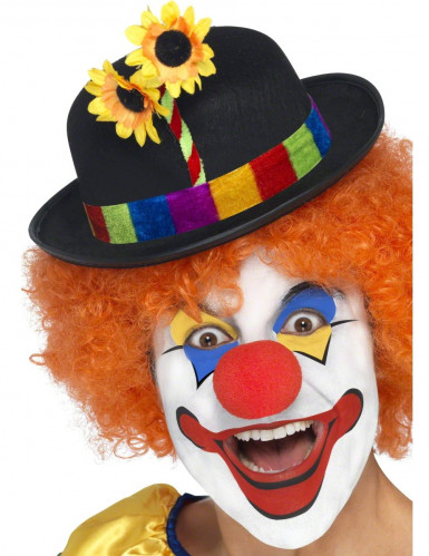 Cappello da clown a bombetta