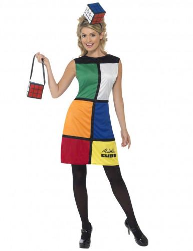 Costume Cubo di Rubik™ donna