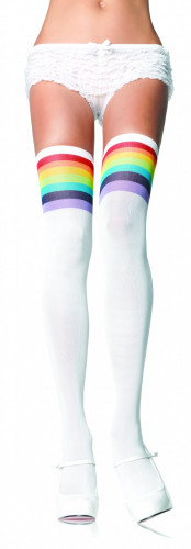 Calze parigine arcobaleno donna