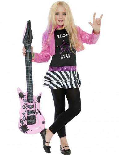 Costume rockstar bambina