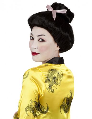 Parrucca geisha nera donna