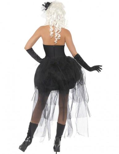 Costume scheletro macabro adulto per donna-2