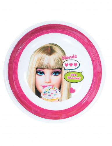 Piatto fondo in melammina Barbie™