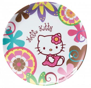 Piatto in melammina Hello Kitty Bamboo™