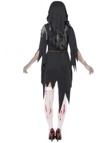 Costume suora zombie Halloween donna-1