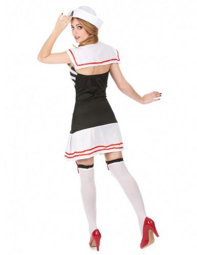 Costume marinaio donna con giarrettiere-1