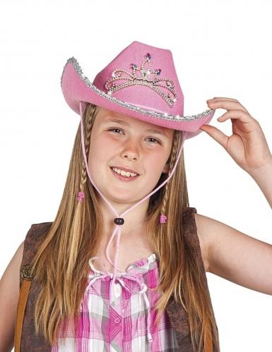 Cappello cowgirl principessa ragazza