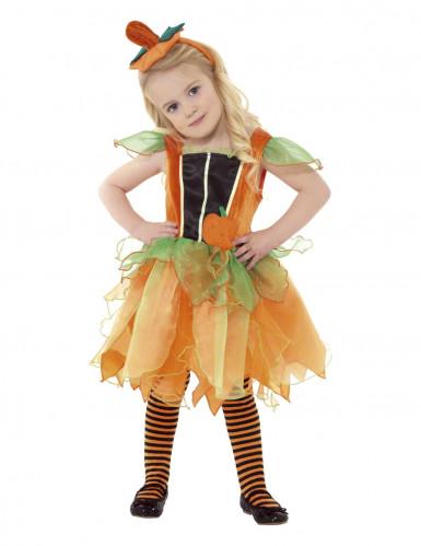 Costume fata della zucca per bambina
