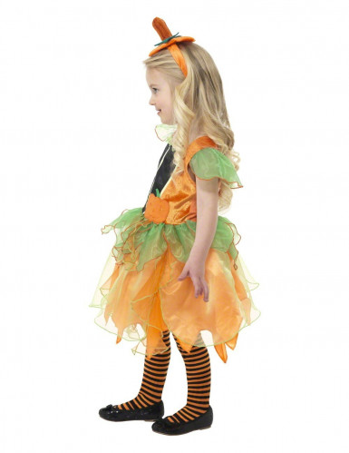 Costume fata della zucca per bambina-1