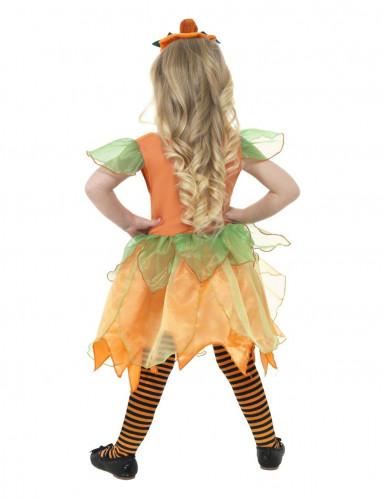 Costume fata della zucca per bambina-2