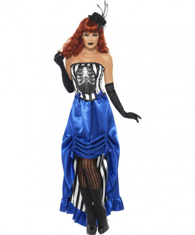 Costume cabaret adulto Halloween per donna