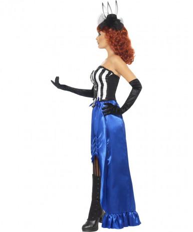 Costume cabaret adulto Halloween per donna-2