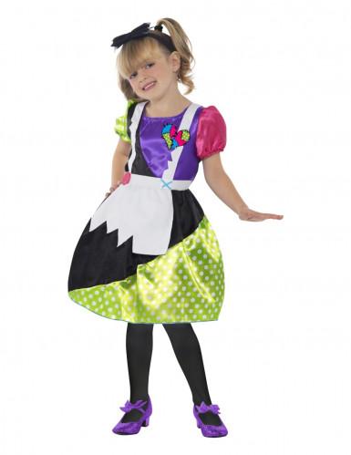 Costume bambola di pezza per bambina Halloween