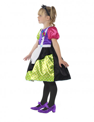 Costume bambola di pezza per bambina Halloween-2