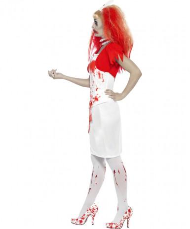 Costume infermiera insanguinata adulto Halloween-2