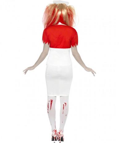 Costume infermiera insanguinata adulto Halloween-1