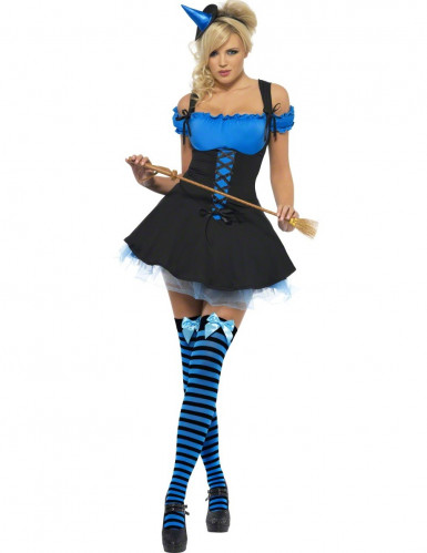 Costume strega sexy Halloween donna