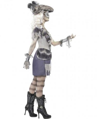 Costume da pirata fantasma donna Halloween-2