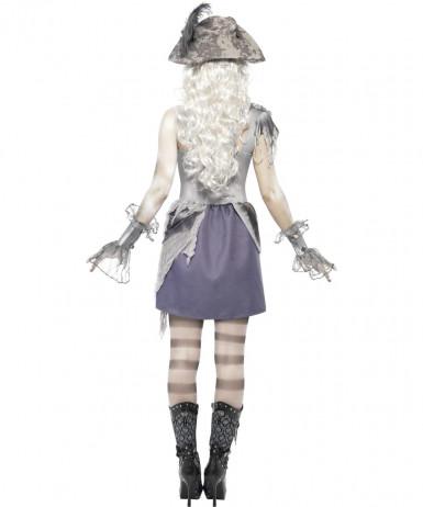 Costume da pirata fantasma donna Halloween-1