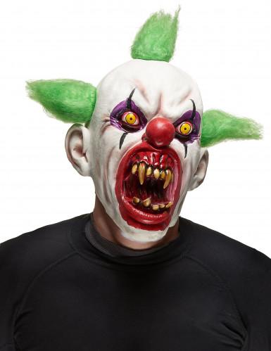 Maschera da Clown malefico Halloween adulto