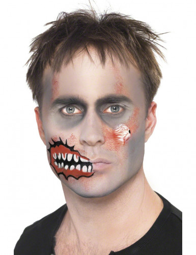 Kit trucco zombie adulti Halloween-2